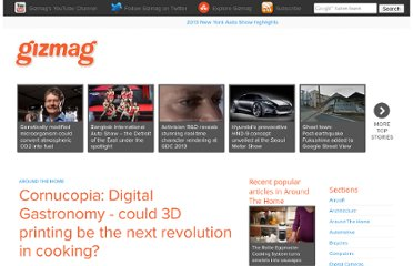 http://www.gizmag.com/cornucopia-digital-gastronomy-3d-food-printer/13873/