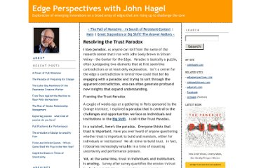 http://edgeperspectives.typepad.com/edge_perspectives/2011/06/resolving-the-trust-paradox.html