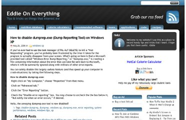 http://www.eddieoneverything.com/windows-xp/how-to-disable-dumprepexe-dump-reporting-tool-on-windows-xp.php