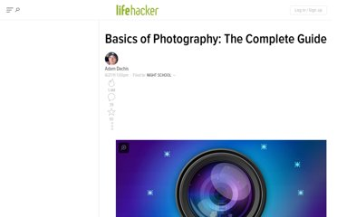 http://lifehacker.com/5815742/basics-of-photography-the-complete-guide