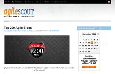 http://agilescout.com/top-agile-blogs-200/