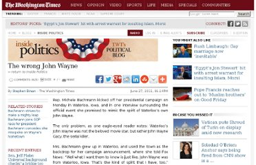 http://www.washingtontimes.com/blog/inside-politics/2011/jun/27/the-wrong-john-wayne/#.TgjBaMY9_hQ.reddit