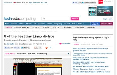http://www.techradar.com/news/software/operating-systems/8-of-the-best-tiny-linux-distros-683552