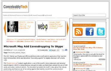 http://www.conceivablytech.com/8108/products/microsoft-may-add-eavesdropping-to-skype
