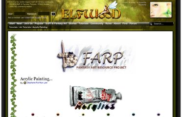 http://www.elfwood.com/farp/acrylics/introduction.html