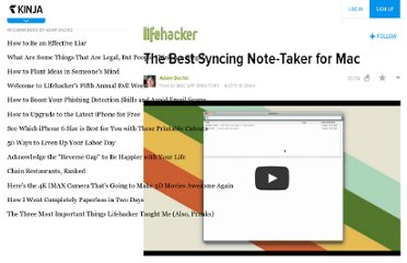 http://lifehacker.com/5815743/the-best-syncing-note+taker-for-mac