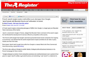 http://www.theregister.co.uk/2011/06/28/1plusv_sues_google/