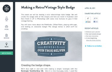 http://www.yassinebentaieb.com/tutorials/making-a-retrovintage-style-badge/