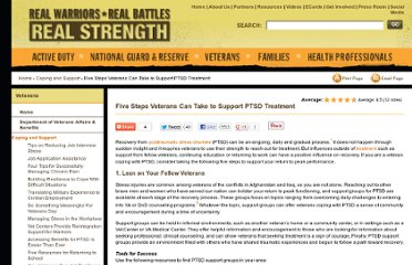 http://realwarriors.net/veterans/treatment/ptsdtreatment.php