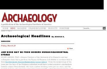 http://www.archaeology.org/news/