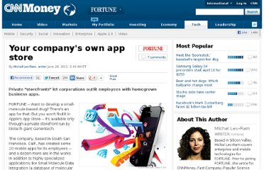 http://tech.fortune.cnn.com/2011/06/28/your-companys-own-app-store/