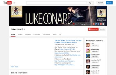 http://www.youtube.com/user/lukeconard