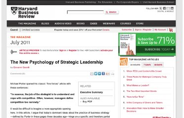 http://hbr.org/2011/07/the-new-psychology-of-strategic-leadership/ar/1