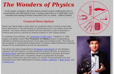 http://sprott.physics.wisc.edu/wop.htm#videos