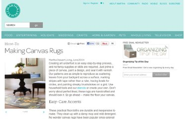 http://www.marthastewart.com/273292/making-canvas-rugs