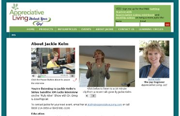 http://appreciativeliving.com/about-jackie-kelm/