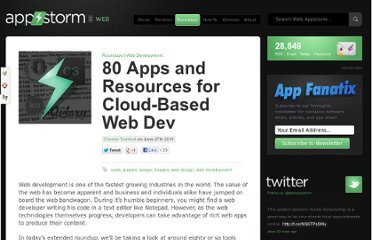 http://web.appstorm.net/roundups/80-apps-and-resources-for-cloud-based-web-dev/