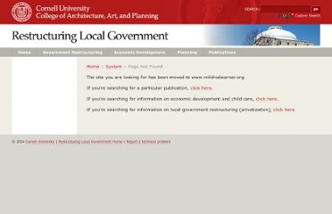 http://government.cce.cornell.edu/doc/viewpage_r.asp?ID=Reinventing_Government