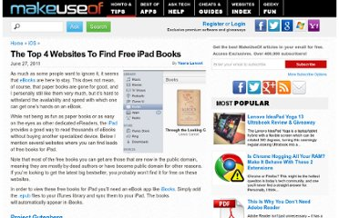http://www.makeuseof.com/tag/top-4-websites-find-free-ipad-books/