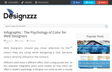 http://www.designzzz.com/infographic-psychology-color-web-designers/