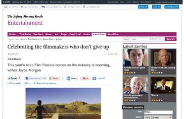 http://www.smh.com.au/entertainment/about-town/celebrating-the-filmmakers-who-dont-give-up-20110628-1gp1m.html