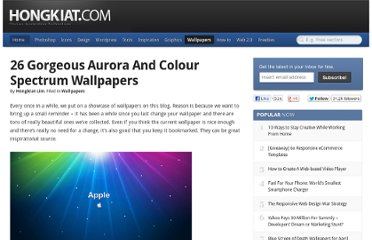 http://www.hongkiat.com/blog/26-gorgeous-aurora-and-colour-spectrum-wallpapers/