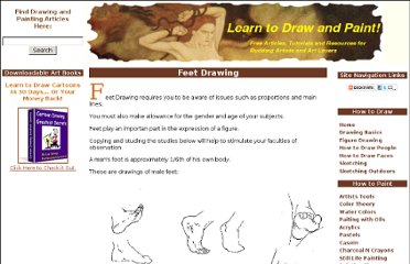 http://www.learn-to-draw-and-paint.com/feet-drawing.html