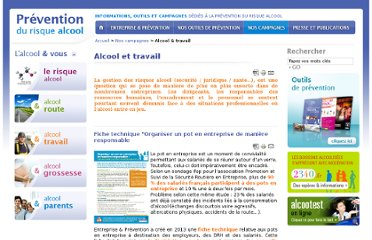 http://www.preventionalcool.com/index.php?/nos-campagnes/alcool-et-travail/