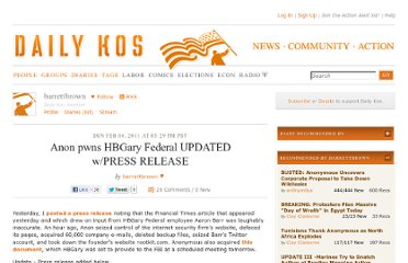 http://www.dailykos.com/story/2011/02/06/941730/-Anon-pwns-HBGary-Federal-UPDATED-w-PRESS-RELEASE
