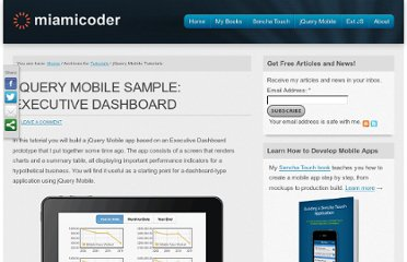 http://miamicoder.com/category/tutorials/jquery-mobile-tutorials/