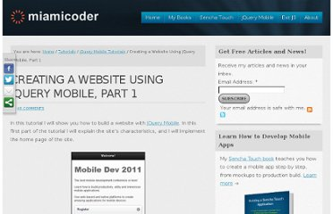 http://miamicoder.com/2011/creating-a-website-using-jquery-mobile-part1/