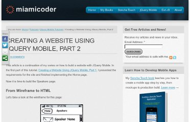 http://miamicoder.com/2011/creating-a-website-using-jquery-mobile-part-2/