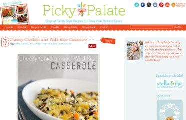 http://picky-palate.com/2010/09/13/cheesy-chicken-and-wild-rice-casserole/