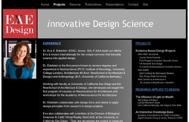 http://eaedesign.com/Innovative_Design_Services/Projects.html