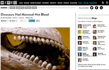 http://www.wired.com/wiredscience/2011/06/dinosaurs-mammals-blood/