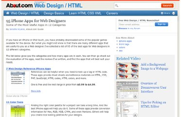 http://webdesign.about.com/od/iphoneapps/tp/iphone_apps_for_web_designers.htm
