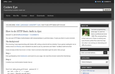 http://coderseye.com/2007/how-to-do-http-basic-auth-in-ajax.html