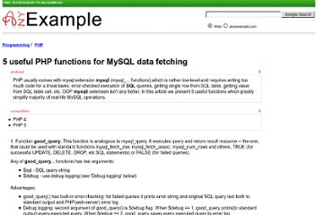 http://www.anyexample.com/programming/php/5_useful_php_functions_for_mysql_data_fetching.xml