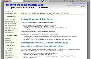 http://libdmtx.wikidot.com/libdmtx-on-windows-using-visual-studio