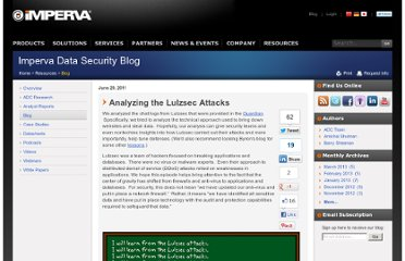 http://blog.imperva.com/2011/06/analyzing-the-lulzsec-attacks-.html