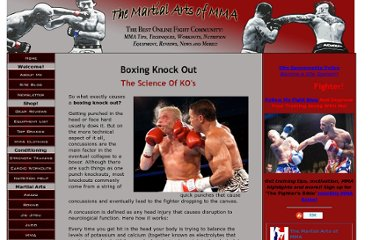 http://www.the-mixed-martial-arts-of-mma.com/Boxing-Knock-Out.html