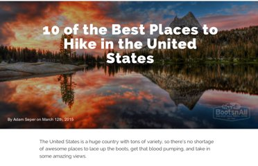 http://www.bootsnall.com/articles/11-06/10-of-the-best-places-to-hike-in-the-united-states.html