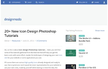 http://designmodo.com/icon-design-photoshop-tutorials/
