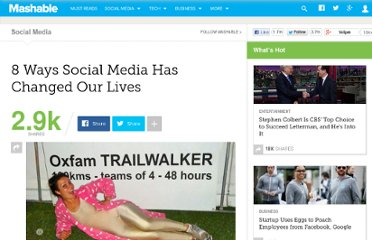 http://mashable.com/2011/06/30/social-media-changes-lives/