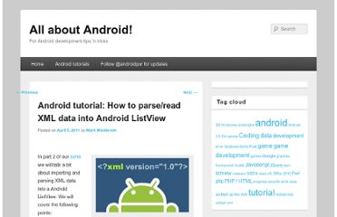http://p-xr.com/android-tutorial-how-to-parseread-xml-data-into-android-listview/