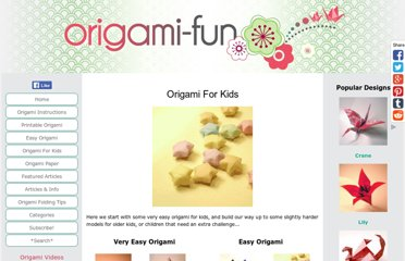 http://www.origami-fun.com/origami-for-kids.html