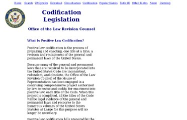 http://uscode.house.gov/codification/legislation.shtml
