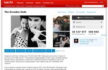 http://www.lastfm.ru/music/The+Dresden+Dolls
