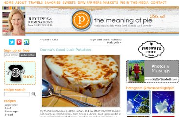 http://www.themeaningofpie.com/2011/02/donnas-good-luck-potatoes/