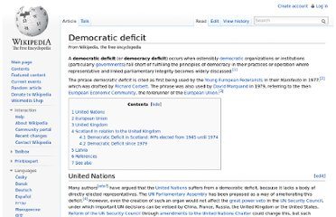http://en.wikipedia.org/wiki/Democratic_deficit